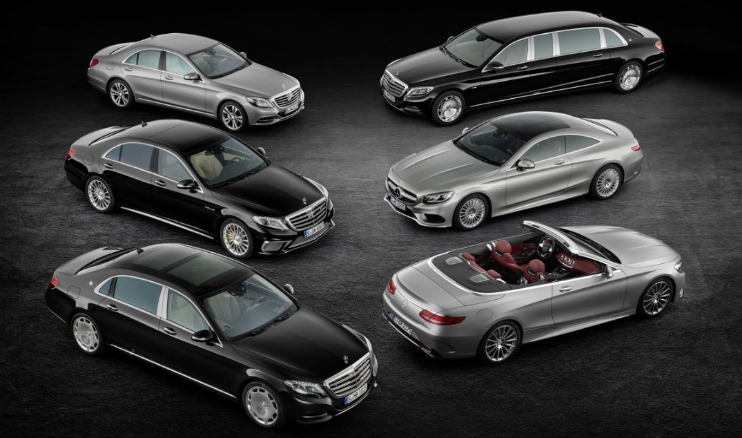 2017 mercedes benz s class release date for Mercedes benz model history