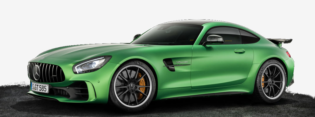 2018 Mercedes Amg Gt R Green Hell Magno Color