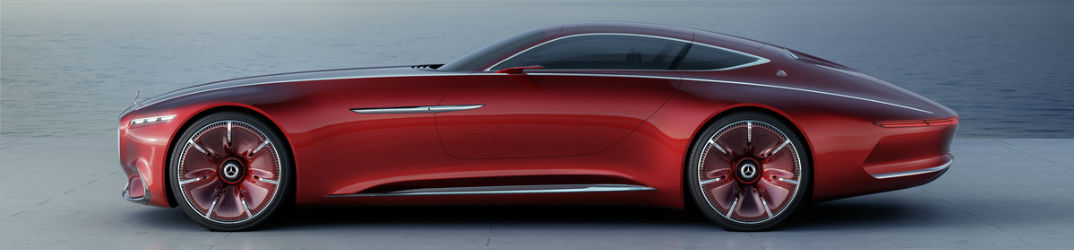 Mercedes-Maybach Vision 6 Luxury Coupe Length
