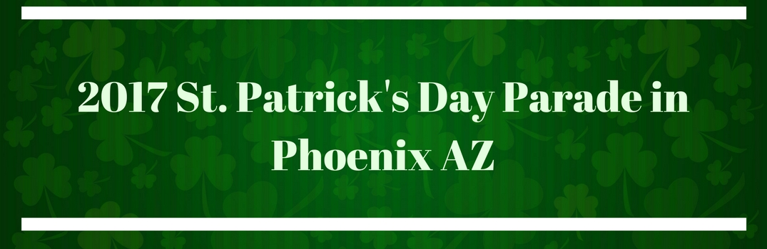 2017 St. Patrick's Day Parade in Phoenix AZ