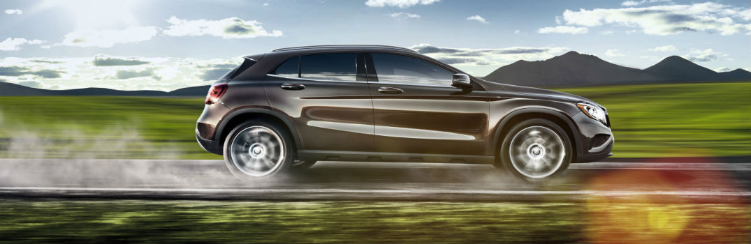 How much cargo can the Mercedes-Benz GLA haul?