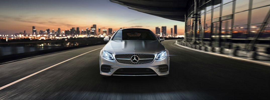 What do the new 2018 E-Class Coupe and Cabriolet configurations have to offer?
