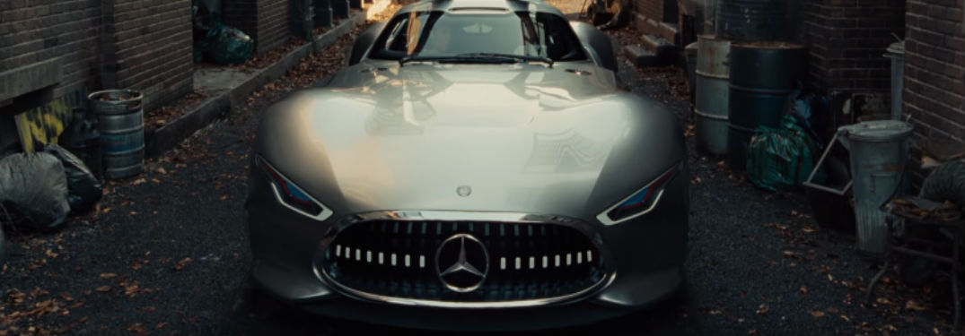 Check out the new E-Class Cabriolet and AMG Vision Gran Turismo in this Justice League trailer!