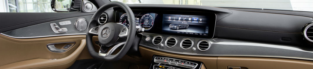 2017 Mercedes-Benz E-Class Dashboard