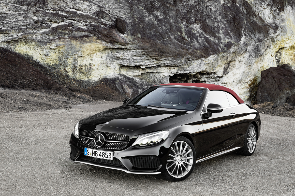 2017 mercedes benz c class cabriolet sneak peak. Black Bedroom Furniture Sets. Home Design Ideas
