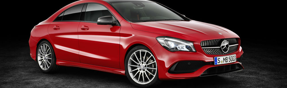 10-spoke Mercedes-Benz CLA250 wheels