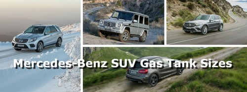 Which Mercedes-Benz SUV can travel the furthest on one tank of gas?