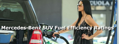 What is the most fuel efficient Mercedes-Benz SUV?