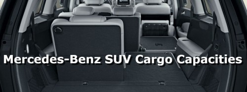 How much cargo can my Mercedes-Benz hold?
