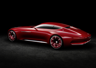 Vision Mercedes-Maybach 6 Small Side Windows