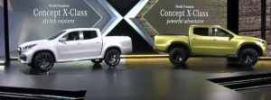 Mercedes-Benz X-Class Concepts Back To Back