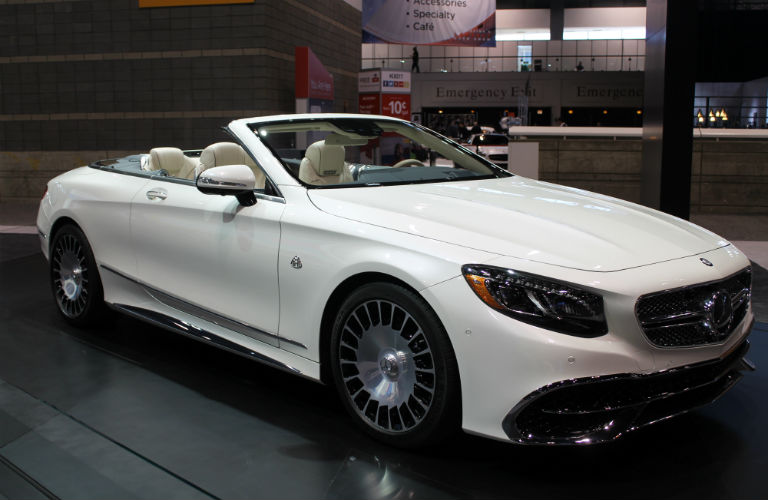 First look at the mercedes benz maybach s650 cabriolet for Mercedes benz 650