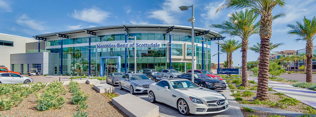 Mercedes benz of scottsdale takes home two top national honors for Top mercedes benz dealerships