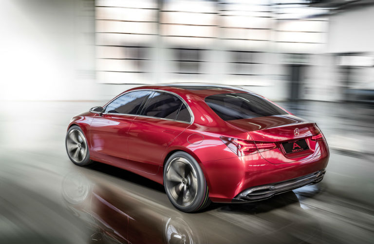 What Is A Sedan >> What Is The Mercedes Benz Concept A Sedan