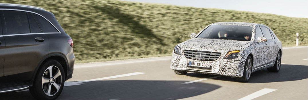 Mercedes-Benz S-Class New Driver Assistance Systems