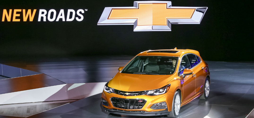 The Chevy Cruze gets a hatchback in 2016