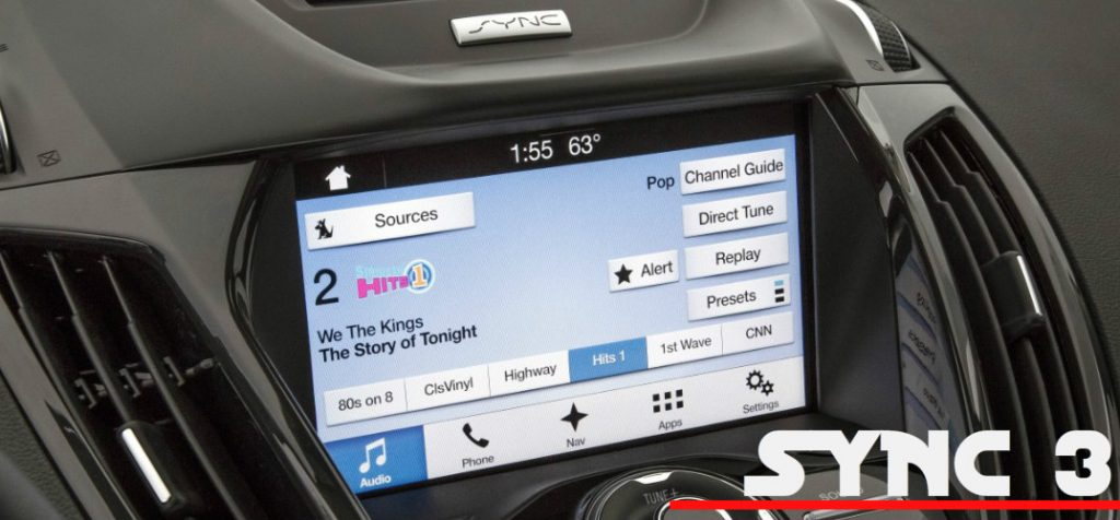 What's the difference between Ford SYNC and SYNC 3