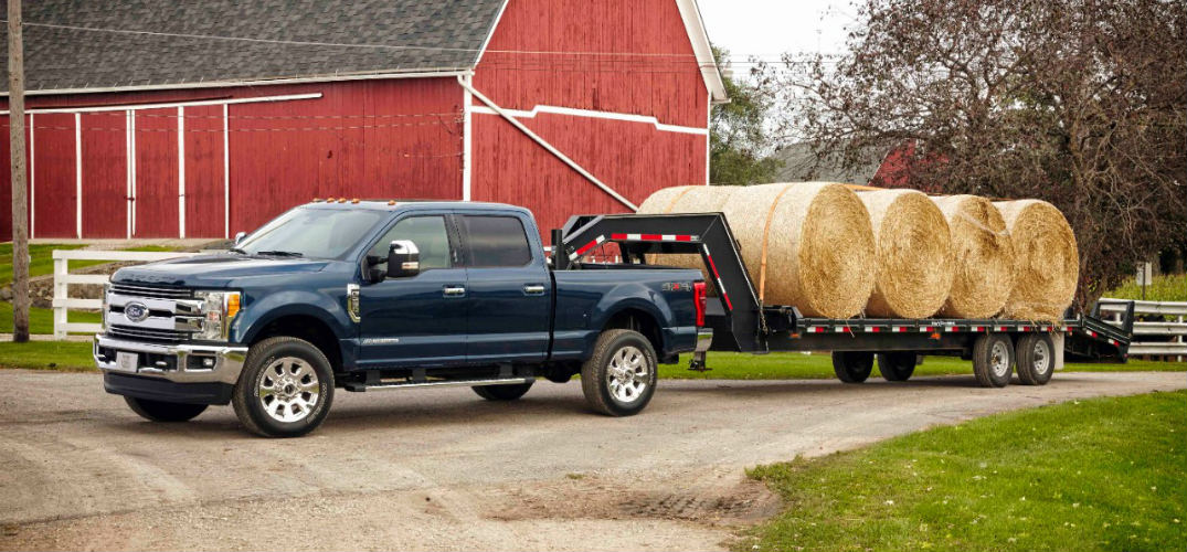 How much can the new Super Duty tow?
