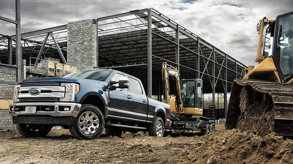 fuel capacity and range of the 2017 ford super duty. Black Bedroom Furniture Sets. Home Design Ideas