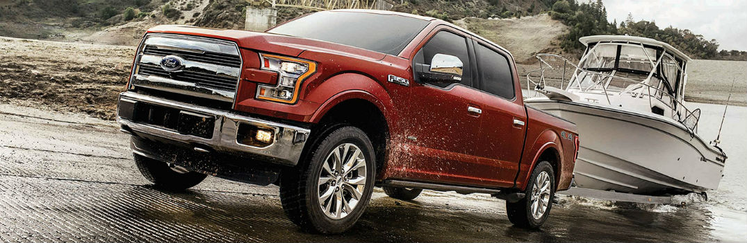 Multiple engine options available in 2017 Ford F-150 provide wide range of horsepower and torque
