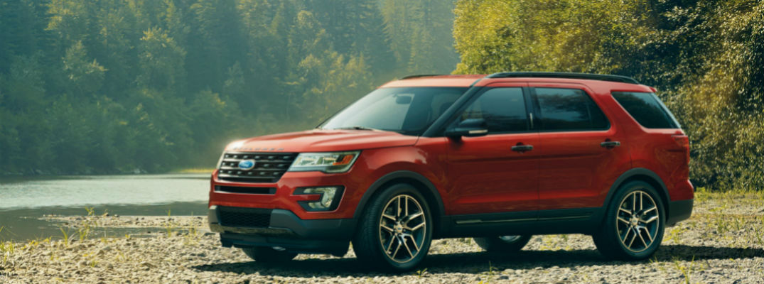 2017 ford explorer technology and comfort features. Black Bedroom Furniture Sets. Home Design Ideas