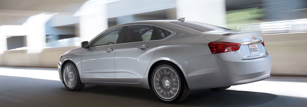 2017 Chevy Impala exterior side view