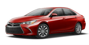 2017 Toyota Camry in Ruby Flare Pearl