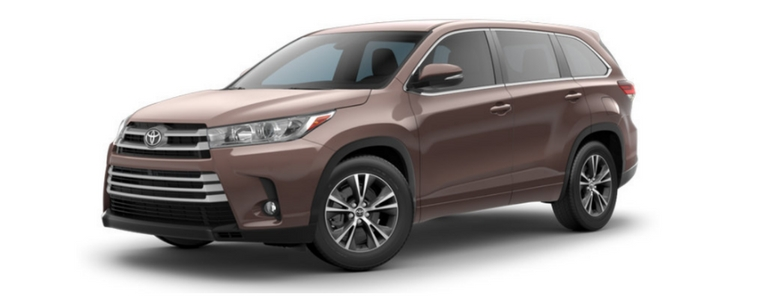 2017 Toyota Highlander in Toasted Walnut Pearl