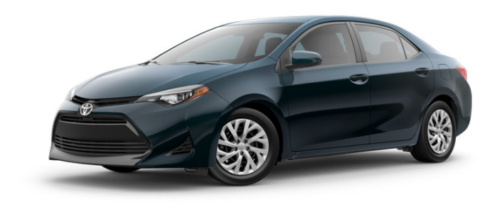 Color Options and Pricing for the 2017 Toyota Corolla