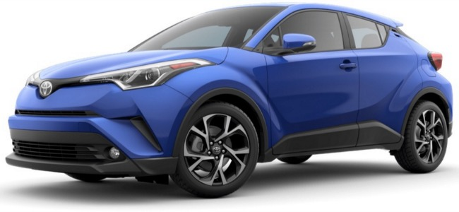the new 2018 toyota c hr exterior color options. Black Bedroom Furniture Sets. Home Design Ideas