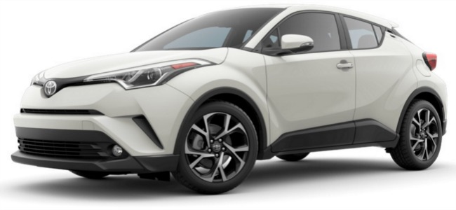 The New 2018 Toyota C-HR Exterior Color Options