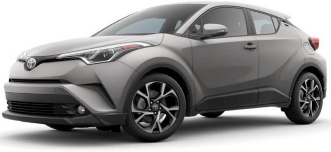 2018 toyota hrc. plain 2018 2018 c hr silver knockout metallic and toyota hrc