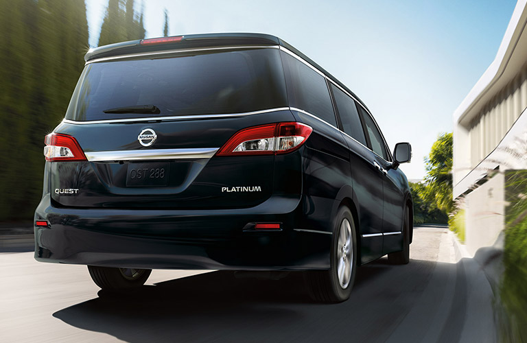 How Much Storage Space In 2016 Nissan Quest