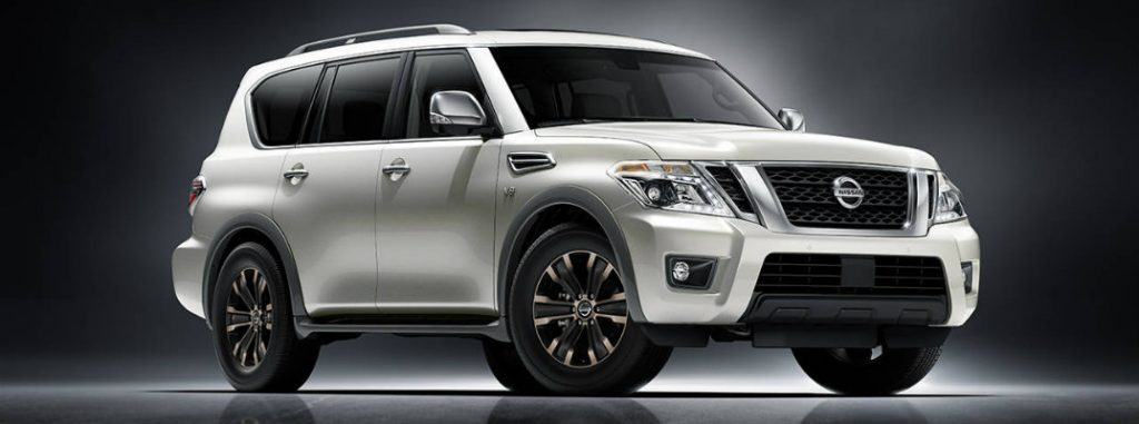 2017 nissan armada with standard 8 inch touchscreen. Black Bedroom Furniture Sets. Home Design Ideas