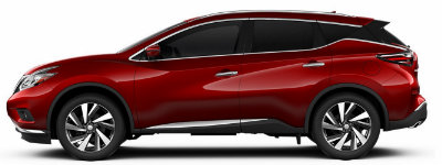 Nissan Murano 2017 Red >> 2017 Nissan Murano Color Options