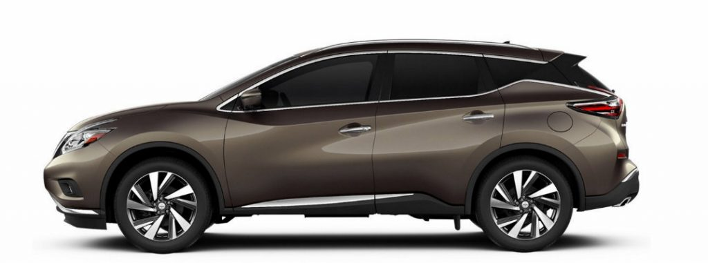 2017 Nissan Murano Color Options