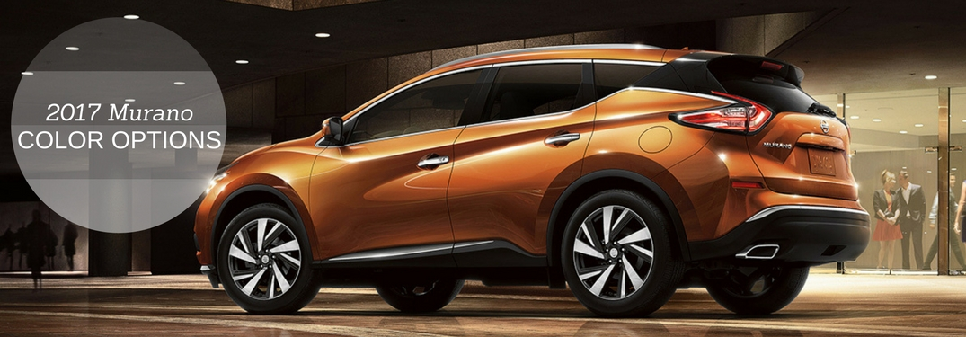 2017 nissan murano color options. Black Bedroom Furniture Sets. Home Design Ideas