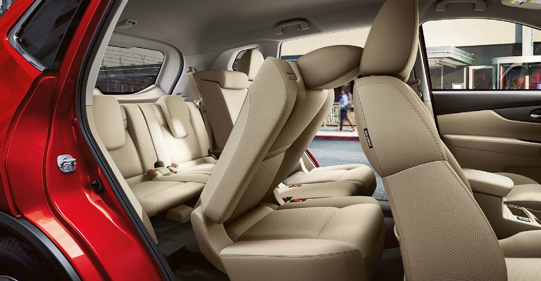 Nissan Rogue With A Third Row Option O on Nissan Pathfinder Seating