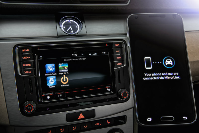 volkswagen mib ii infotainment system offers updated connectivity for users. Black Bedroom Furniture Sets. Home Design Ideas