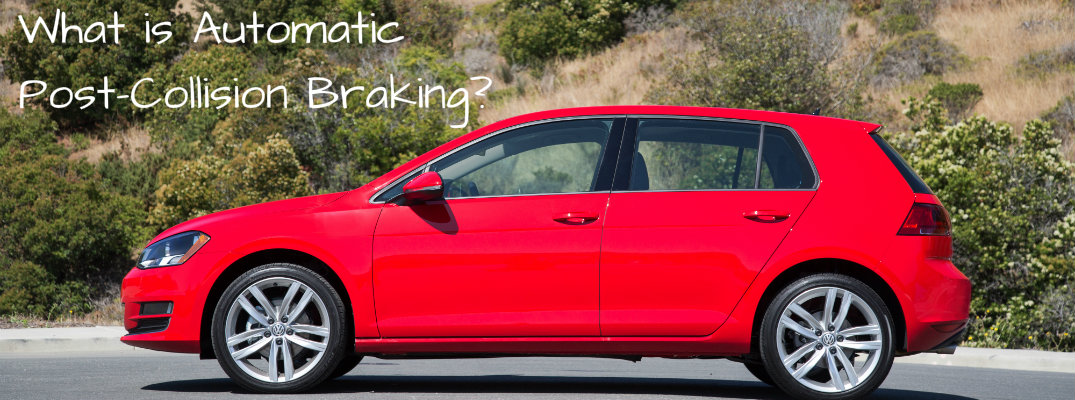 What Is Automatic Post Collision Braking