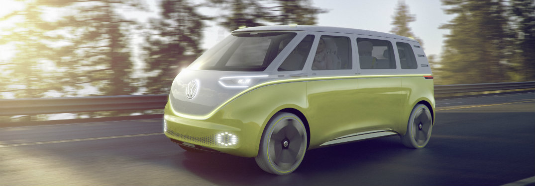 Highlights of the Volkswagen I.D. Buzz