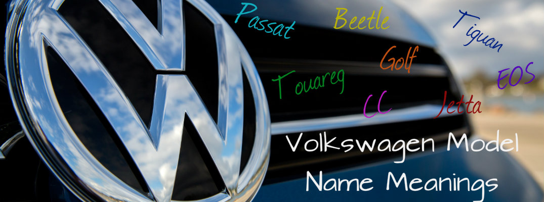 What Do Volkswagen Car Names Mean