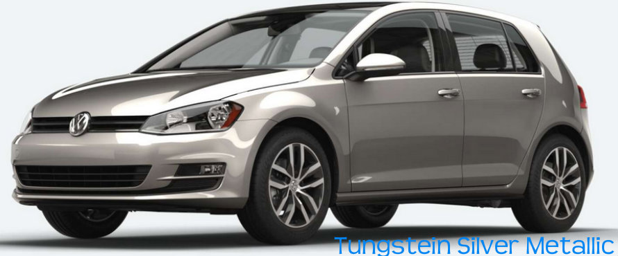 What colors does the Volkswagen Golf come in?