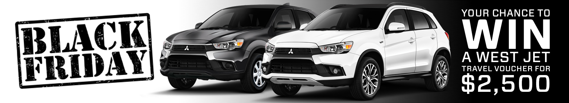 West Side Mitsubishi's Black Friday Event