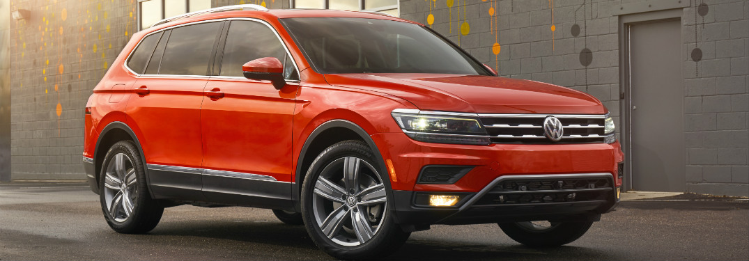 2018 VW Tiguan trim levels and prices