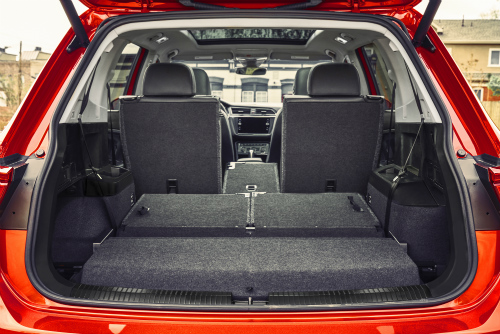 What is the difference between 60/40 and 40/20/40 split-folding seats?