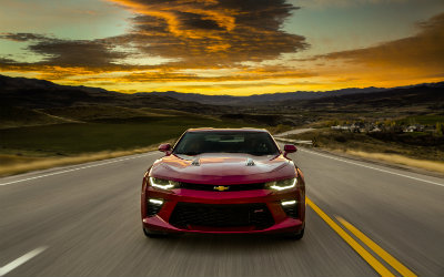 Chevy Camaro Motor Trend 2016 Car of the Year