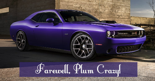 Ophelia S Adornments Blog May 2012: 2017 Dodge Challenger Color Options