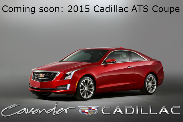 Coming Soon: 2015 Cadillac ATS Coupe for San Antonio