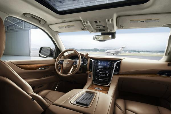 2015 Cadillac Escalade Platinum is on its way